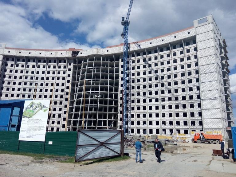 Центральная больница на 1100 мест