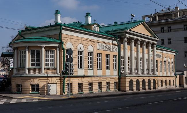 Памятник архитектуры «Главный дом городской усадьбы Матвея Муравьева-Апостола»